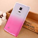 Coque Samsung Galaxy Note Edge N915 Degrade Etui Rigide - Rose Chaud