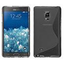 Coque Samsung Galaxy Note Edge N915 S-Line Silicone Gel Housse - Gris