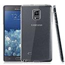 Coque Samsung Galaxy Note Edge N915 Transparent Plastique Etui Rigide - Clear