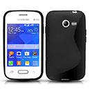 Coque Samsung Galaxy Pocket 2 G110H S-Line Silicone Gel Housse - Noire