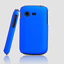 Coque Samsung Galaxy Pocket S5300 Plastique Etui Rigide - Bleu