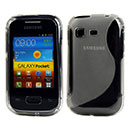 Coque Samsung Galaxy Pocket S5300 S-Line Silicone Gel Housse - Clear