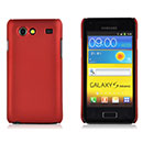 Coque Samsung Galaxy S Advance i9070 Plastique Etui Rigide - Rouge