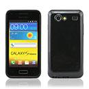 Coque Samsung Galaxy S Advance i9070 Silicone Gel Housse - Noire