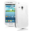 Coque Samsung Galaxy S Duos S7562 S-Line Silicone Gel Housse - Blanche