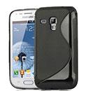 Coque Samsung Galaxy S Duos S7562 S-Line Silicone Gel Housse - Noire