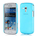 Coque Samsung Galaxy S Duos S7562 Ultrathin Plastique Etui Rigide - Bleue Ciel