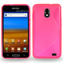 Coque Samsung Galaxy S2 LTE i9210 S-Line Silicone Gel Housse - Rose Chaud