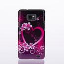 Coque Samsung Galaxy S2 Plus i9105 Amour Plastique Etui Rigide - Pourpre