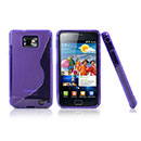 Coque Samsung Galaxy S2 Plus i9105 S-Line Silicone Gel Housse - Pourpre