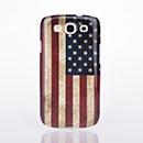 Coque Samsung Galaxy S3 4G i9305 Le drapeau des Etats-Unis Etui Rigide - Gris