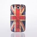 Coque Samsung Galaxy S3 4G i9305 Le drapeau du Royaume-Uni Etui Rigide - Gris