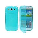 Coque Samsung Galaxy S3 4G i9305 S-Line Support Housse - Bleu