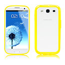 Coque Samsung Galaxy S3 4G i9305 Silicone Transparent Housse - Jaune