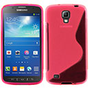 Coque Samsung Galaxy S4 Active i9295 S-Line Silicone Gel Housse - Rose Chaud