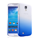 Coque Samsung Galaxy S4 i9500 i9505 Degrade Etui Rigide - Bleu