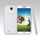Coque Samsung Galaxy S4 i9500 i9505 Ultrathin Plastique Etui Rigide - Blanche
