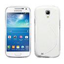 Coque Samsung Galaxy S4 Mini i9190 S-Line Silicone Gel Housse - Blanche