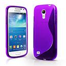 Coque Samsung Galaxy S4 Mini i9190 S-Line Silicone Gel Housse - Pourpre