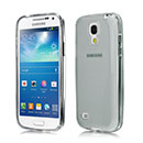 Coque Samsung Galaxy S4 Mini i9190 Silicone Transparent Housse - Gris