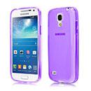 Coque Samsung Galaxy S4 Mini i9190 Silicone Transparent Housse - Pourpre