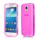 Coque Samsung Galaxy S4 Mini i9190 Silicone Transparent Housse - Rose Chaud