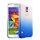 Coque Samsung Galaxy S5 i9600 Degrade Etui Rigide - Bleu