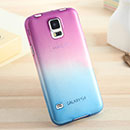 Coque Samsung Galaxy S5 i9600 Degrade Etui Rigide - Pourpre