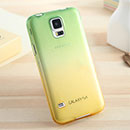 Coque Samsung Galaxy S5 i9600 Degrade Etui Rigide - Verte