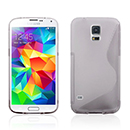Coque Samsung Galaxy S5 i9600 S-Line Silicone Gel Housse - Clear