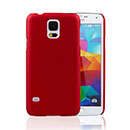 Coque Samsung Galaxy S5 i9600 Sables Mouvants Etui Rigide - Rouge
