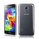 Coque Samsung Galaxy S5 Mini G800F Transparent Plastique Etui Rigide - Clear