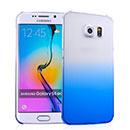 Coque Samsung Galaxy S6 Edge G925F G9250 Degrade Etui Rigide - Bleu