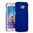 Coque Samsung Galaxy S6 Edge G925F G9250 Plastique Etui Rigide - Bleu