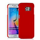 Coque Samsung Galaxy S6 Edge G925F G9250 Plastique Etui Rigide - Rouge