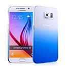 Coque Samsung Galaxy S6 G920F Degrade Etui Rigide - Bleu