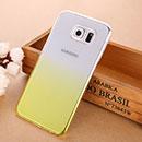 Coque Samsung Galaxy S6 G920F Degrade Etui Rigide - Jaune