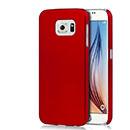 Coque Samsung Galaxy S6 G920F Plastique Etui Rigide - Rouge
