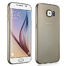 Coque Samsung Galaxy S6 G920F Silicone Transparent Housse - Gris
