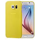 Coque Samsung Galaxy S6 G920F Silicone Transparent Housse - Jaune