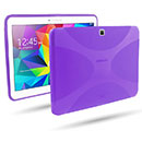 Coque Samsung Galaxy Tab 4 10.1 T530 X-Style Silicone Gel Housse - Pourpre