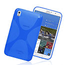 Coque Samsung Galaxy Tab Pro 8.4 T3200 X-Style Silicone Gel Housse - Bleu