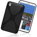 Coque Samsung Galaxy Tab Pro 8.4 T3200 X-Style Silicone Gel Housse - Noire