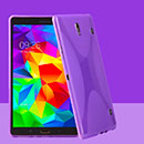 Coque Samsung Galaxy Tab S 8.4 T700 X-Style Silicone Gel Housse - Pourpre