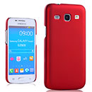 Coque Samsung Galaxy Trend 3 G3502 G3508 Plastique Etui Rigide - Rouge