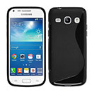 Coque Samsung Galaxy Trend 3 G3502 G3508 S-Line Silicone Gel Housse - Noire