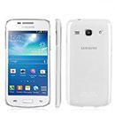 Coque Samsung Galaxy Trend 3 G3502 G3508 Transparent Plastique Etui Rigide - Clear