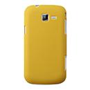 Coque Samsung Galaxy Trend Duos 2 GT-S7572 Plastique Etui Rigide - Jaune