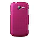 Coque Samsung Galaxy Trend Duos 2 GT-S7572 Plastique Etui Rigide - Rose Chaud