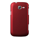 Coque Samsung Galaxy Trend Duos 2 GT-S7572 Plastique Etui Rigide - Rouge